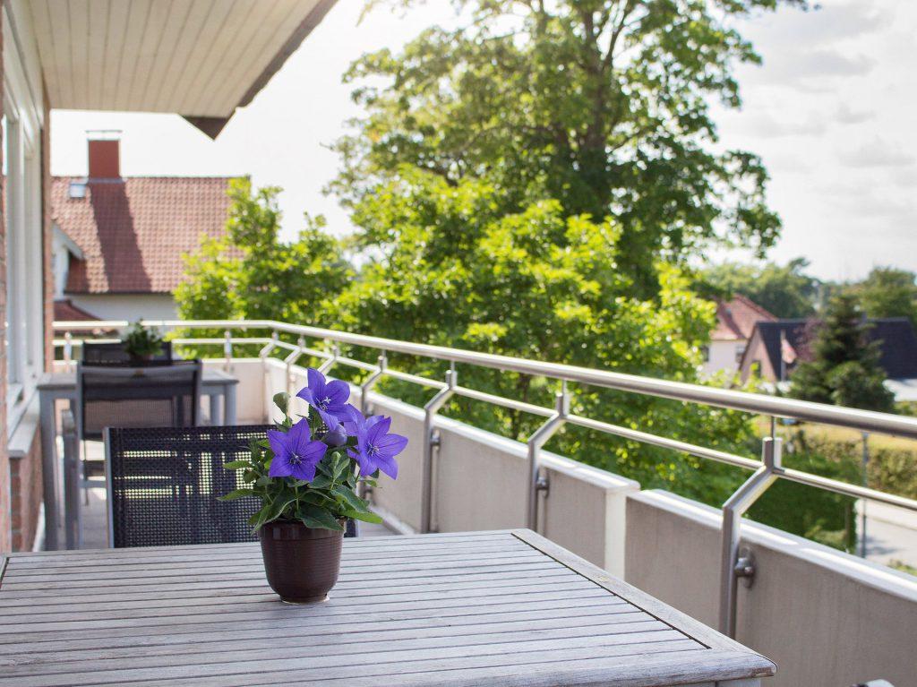 Balkon Haus Hotel Garni Seeblick Plön Ploen