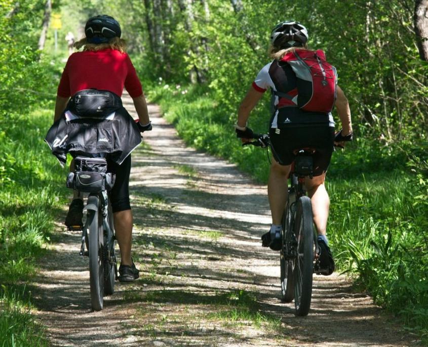 Freizeit Umgebung Fahrrad Hotel Garni Seeblick Plön Ploen