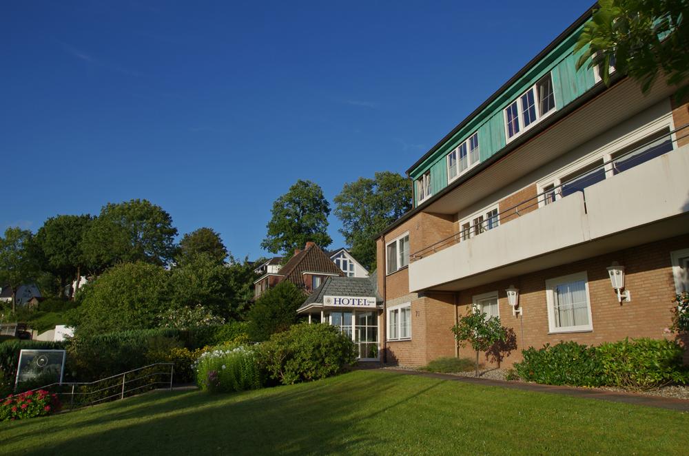 Außenansicht Aussenansicht Haus Hotel Garni Seeblick Plön Ploen