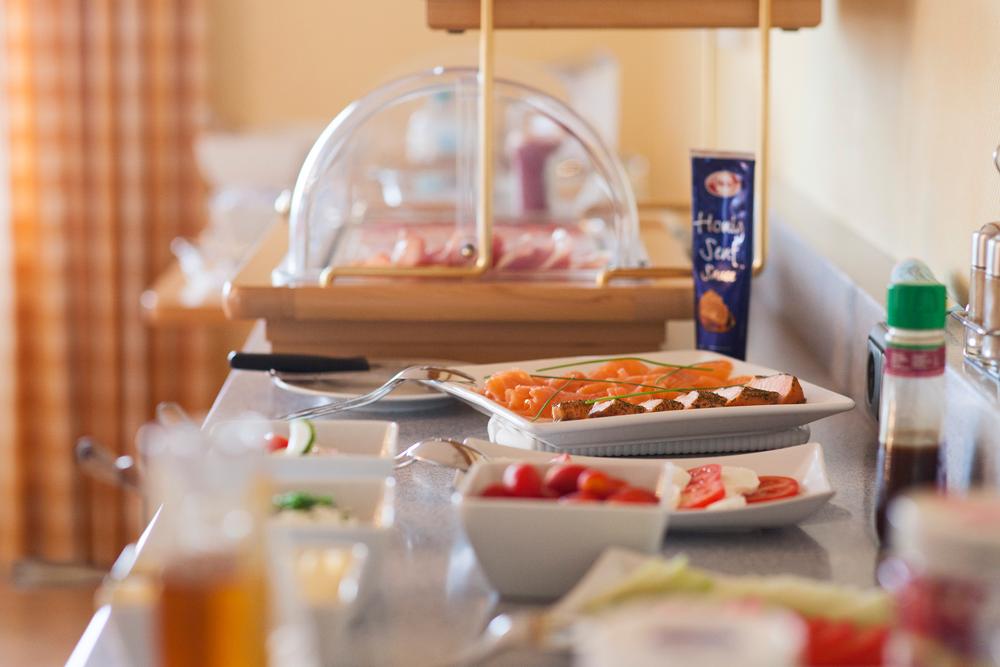 Frühstück Buffet Hotel Garni Seeblick Plön Ploen