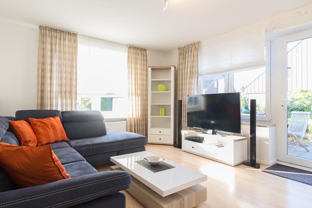 Zimmer Suite Wohnbereich Hotel Garni Seeblick Plön Ploen
